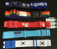China direct custom luggage belt airport Polyester Luggage Belt wholesale