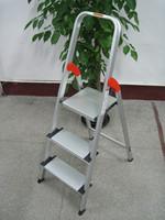 Aluminum Household 3 Step folding ladder