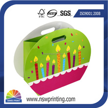 Eco Friendly Custom Printed birthday gift bag paper bag manufacturer