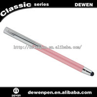 2013 hot sell dewen pens for ipad and iphone,mini touch pen