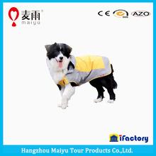 Favorable high quality durable cute dog rain coat