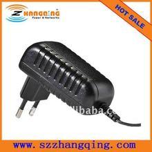 EU plug switch regulated AC DC power supply, the power supply 12V 2A