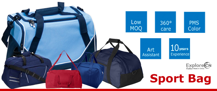 sport bag manufacture in China over 10 years experience