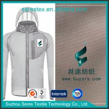 Ribstop 15D Nylon taffeta fabric/UPF fabric 40 for skin fabric