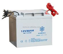 Low Self-Discharge gel battery 12v 38ah Sealed Lead Acid VRLA Battery for UPS