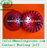 vacuum brazed diamond cup wheel diamond cup wheel concrete grinding