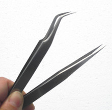 wholesale Straight eyebrow tweezers stainless tweezers eyelash extension