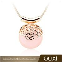 OUXI 2015 fashion trend opal necklace jewelry turkey