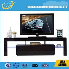 Luxury E1 MDF tv stand / LED light tv stand / TV stand with storage