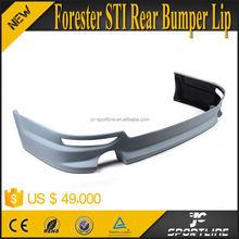 STI Style Forester Rear Bumper Lip For Subaru Forester STI 2008~2010