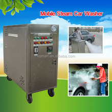 CE two gun steam car washer machine price/Steam car wash engine cleaner