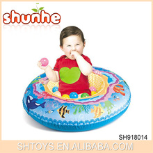 Baby Care Play Mat Round Plush Cheap Baby Mat Inflatable Safety Baby Play Gym Equipment with Balls
