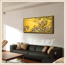Famous Acrylic Painting Artist Framed Artwork