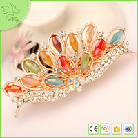 2015 New Colorful Crystal Christmas Queen Pageant Tiara Crowns for Sale