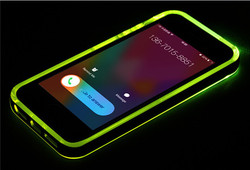 light up cell phone case for iphone 5,light weight plastic cell phone case for iphone 6