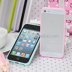 Cell Phone Matt TPU+PC back Case Cover,shockproof case for iPhone6