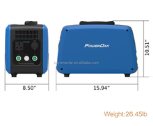 1500w solar power system for home multi-function portable power station mobile portable solar power station