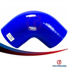 "PQY STORE-BLUE 3"" 76mm 90 Degree Elbow Silicone Hose Pipe Turbo Intake PQY-SH9030"