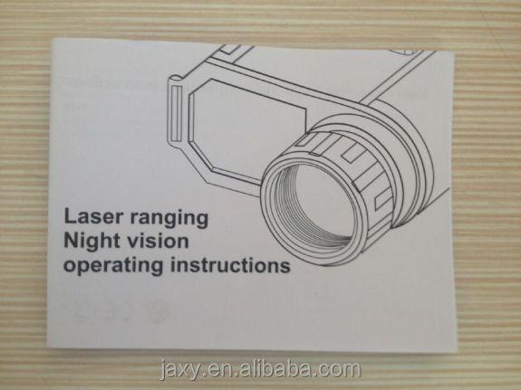 Tag und nacht super nachtsichtgerät mit laser entfernungsmesser