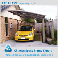 Prefabricated Steel Structure Double Car Canopy