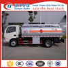 Lowest price Dongfeng 5000 liter fuel tanker truck capacity