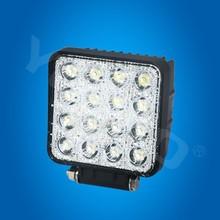 Super bright! spot ip68 truck led driving light 16pcs*3w c ree led truck 48w led work light