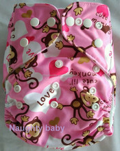 2015 New design hot sale print pocket baby cloth diapers Eco friendly reusable baby diaper cover washable baby nappy