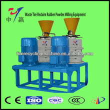 Full Automatic Type Waste Tire Reclaim Rubber Powder Milling Equipment/Waste tire recycling machine
