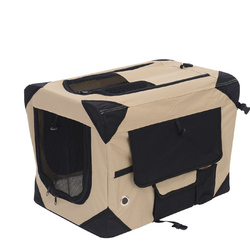 600D Fabric Dog Soft Crate With Fleece Pad
