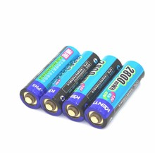 1.5V AA 2800mWh li aa battery Li-ion Rechargeble Battery