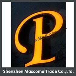 led power supply neon sign channel letters made in China
