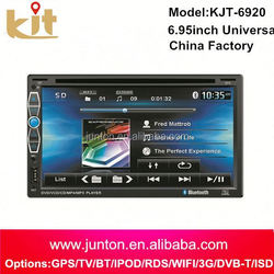 2 din car dvd player bluetooth gps with wifi function
