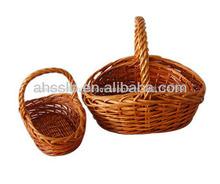 huevo de pascua cesta