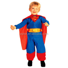 Super Heroes Clothes Deluxe Muscle Chest Superman Costume, Toddler