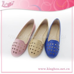 heart laser via hole fashion footwear shoes