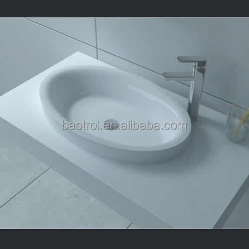 Plastic Bathroom Sink : Mordern Acrylic Bathroom Vanity European Unique Bathroom Sink - Buy ...