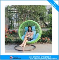 U outdoor furrniture beautiful hanging swing chair (CF1434H)