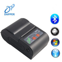 2inch mini portable thermal bluetooth android/ios smartphone barcode printer