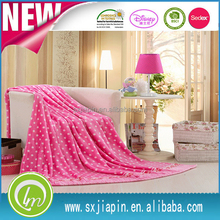 Bottom price new coming flannel fleece blanket bedspread