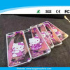 Hello kitty cell phone case for iPhone 6 plastic phone case