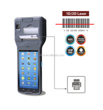"World first Android 3g 5""touch screen POS printer PDA with Quad-Core CPU,charging cradle"