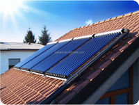 Solar keymark approved heat pipe solar thermal collector