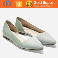 nice style rubber sole ladies flat dress shoes suppliers in China