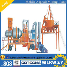 Movable Bitumen Equipment 30t/h Asphalt Mixing Plant QLB-30 with Cheap Price