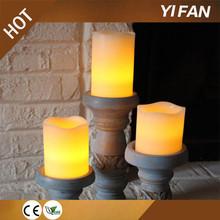 vendita calda telecomando senza fiamma chiesa led candela