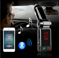 Bluetooth Wireless Kit Car Mp3 Player Fm Transmitter USB Car Charger, High Quality Wireless Fm Transmitter