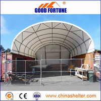 High Quality Tarpaulin Shipping Container Canopy