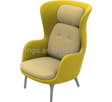 Ro lounge chair with ottoman A70