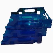 Plastic stackable 3 tier organizer document desk tray