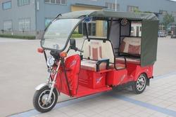 Three Wheels Electric Tricycle / 2015 New Model Battery Rickshaw / 5 Seats Electric Rickshaw
